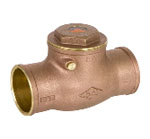 Sweat Brass Check Valves