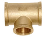brass fittings, lead free, 125 PSI, threaded, NPT
