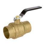 CSA Full Port Sweat Brass Ball Valves